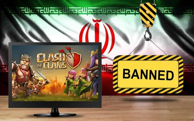 iran, supercell, clash of clans