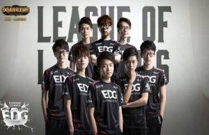 Gilette, Global Arena'da League of Legends Takımı Edward Gaming'e Sponsor