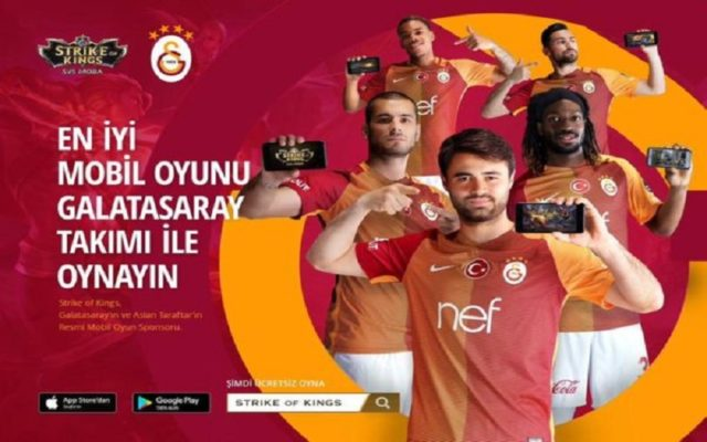 Galatasaray Mobilde Strike of Kings