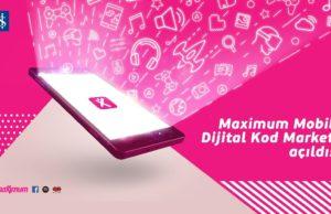 maximum mobil dijital kod market