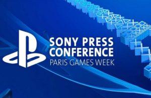 Sony Paris Games Week 2017
