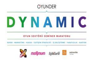 OYUNDER GameX 2017'deki Oyun Sektörü Seminer Maratonunu Duyurdu