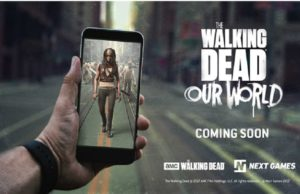 The Walking Dead Augmented Reality ile Mobil Oyun Oluyor