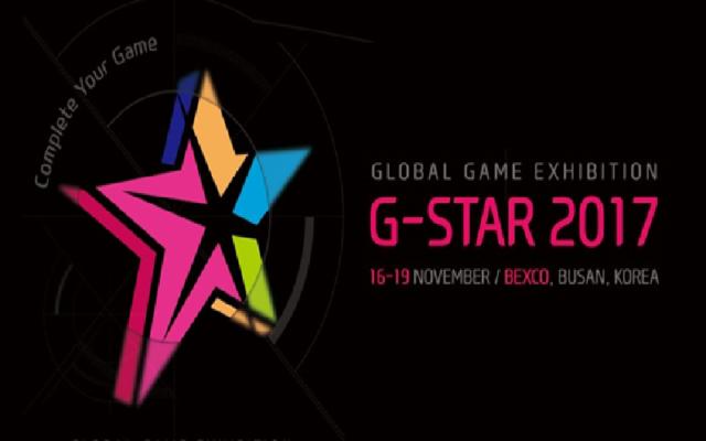 G-Star 2017 Başlıyor!
