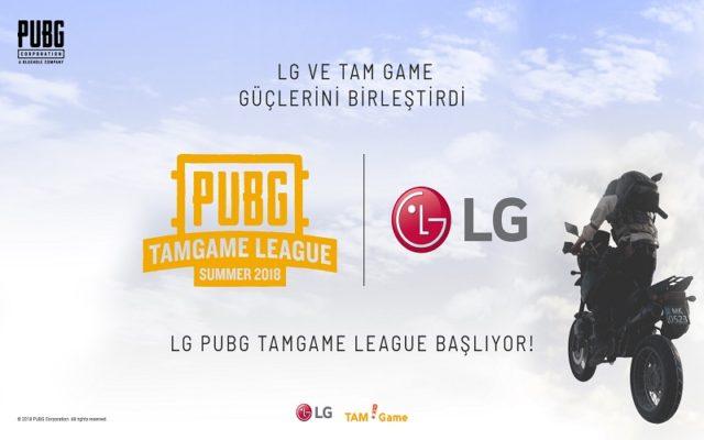PUBG TAMGAME Ligi'nin Ana Sponsoru LG Electronics Oldu!