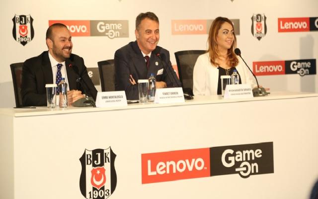 Beşiktaş ve Lenovo'dan Yeni İş Ortaklığı