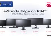 BenQ ZOWIE Playstation 4 İçin Espor Monitör Serisini Duyurdu