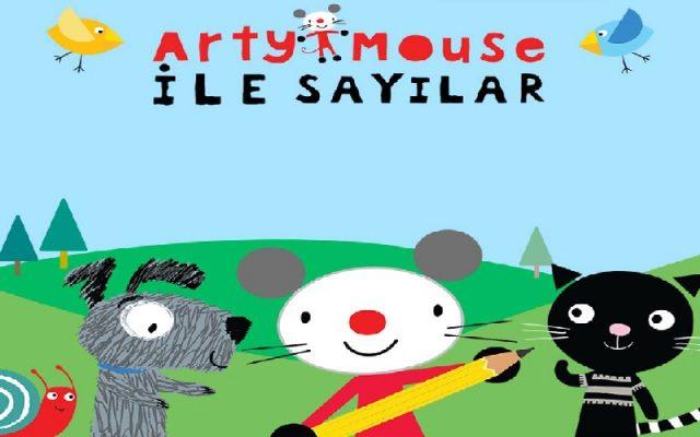 Arty Mouse ile Sayılar Yayında