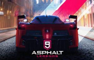 Asphalt 9 Legends Geliyor