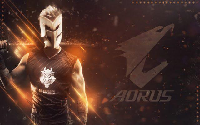 G2 Esports AORUS ile Ortaklık Kuruyor