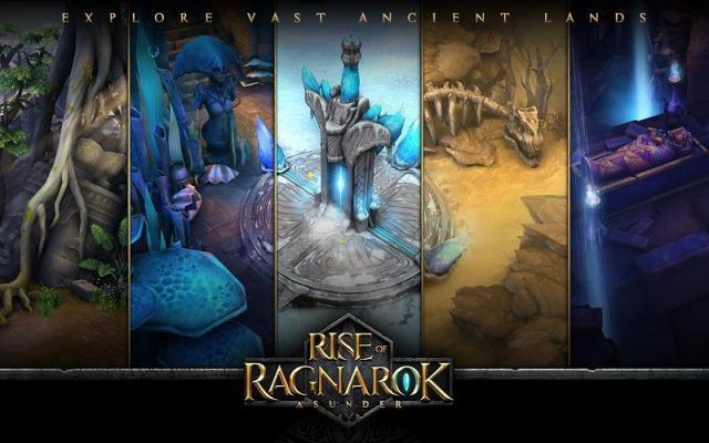 Rise of Ragnarok Asunder Şimdi iOS ve Androidde