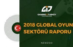 2018 global oyun sektörü raporu