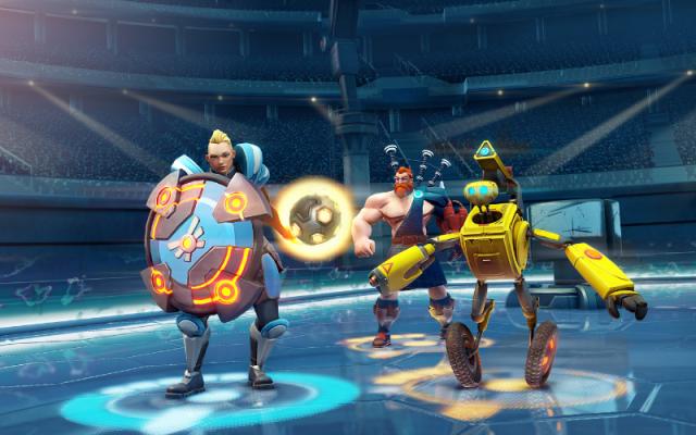 Oasis Games'in Yeni Fütüristik Kahraman Sporları Oyunu Steel Circus Duyuruldu
