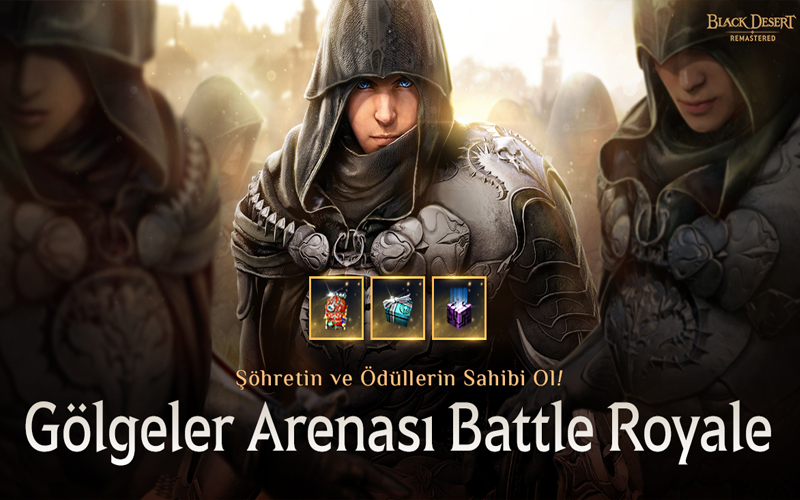 Black Desert Battle Royale ödülleri