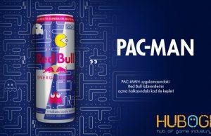 Efsane oyun PAC-MAN Red Bull kutusunda!