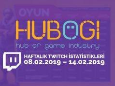 Haftalık Twitch İstatistikleri 8 Şubat 2019 – 14 Şubat 2019