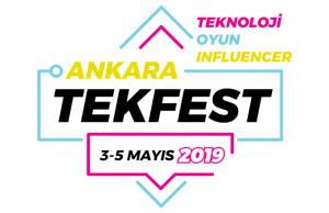 Tekfest Ankara Oyun ve Teknoloji Festivali Kapılarını Açmaya Hazırlanıyor!