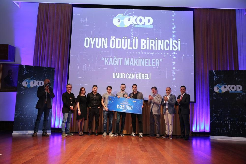 """KOD Ödülleri'nin Oyun Kategorisinde Birinciliği """"Kağıt Makineler"""" Kazandı!"""