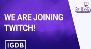 Twitch'e Gaming Database IGDB Desteği Geliyor
