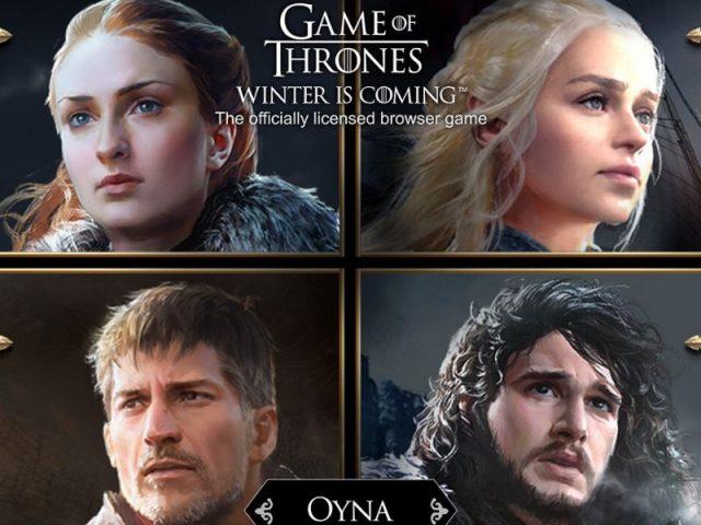 101XP, Oyuncuları Game of Thrones Winter is Coming'e Davet Ediyor